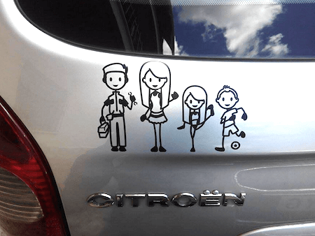Car vinyl stickers