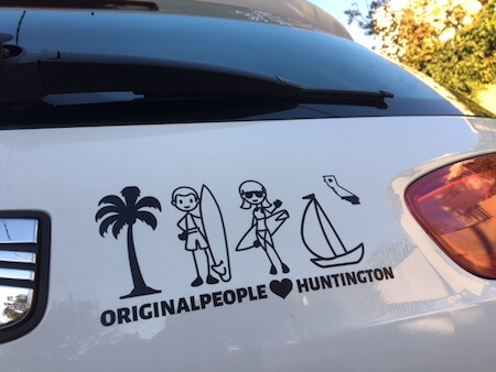 One of our many decals for cars